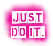 just do it PINK